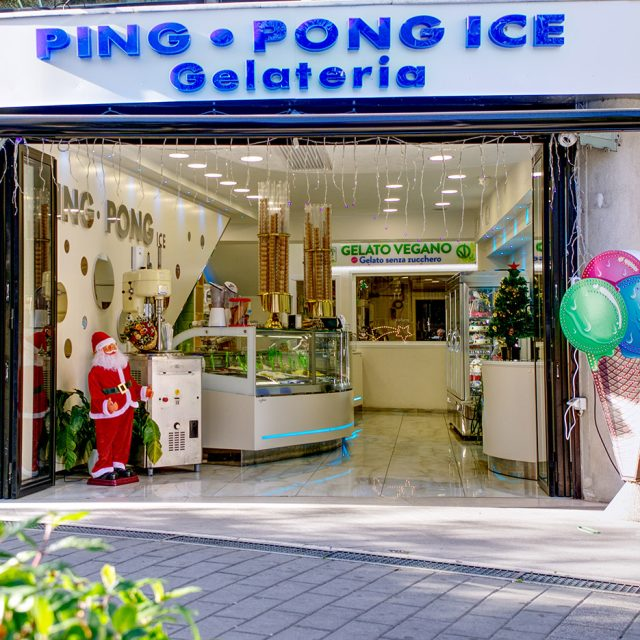 PING PONG ICE CREAM PARLOR IN ROME